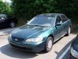 2002 Noble Green Pearl Honda Accord LX Sedan #10681307