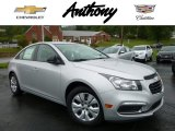 2016 Silver Ice Metallic Chevrolet Cruze Limited LS #107077691