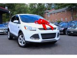 2013 Oxford White Ford Escape SE 2.0L EcoBoost #107077298