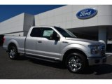 2015 Ingot Silver Metallic Ford F150 XL SuperCab #107128452