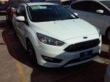 2015 Oxford White Ford Focus SE Sedan #107128435