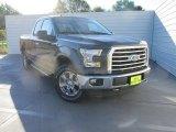 2015 Magnetic Metallic Ford F150 XLT SuperCab 4x4 #107128489