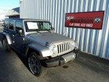2016 Billet Silver Metallic Jeep Wrangler Unlimited Sahara 4x4 #107128666