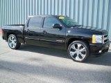2007 Black Chevrolet Silverado 1500 LTZ Crew Cab 4x4 #10675442