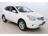 2013 Pearl White Nissan Rogue SV AWD #107128600