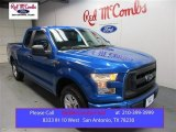 2015 Blue Flame Metallic Ford F150 XL SuperCab #107154251
