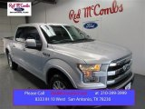 2015 Ingot Silver Metallic Ford F150 Lariat SuperCrew #107154249