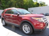 2014 Ruby Red Ford Explorer XLT 4WD #107154567