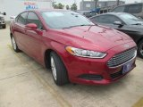 2016 Ruby Red Metallic Ford Fusion SE #107154267