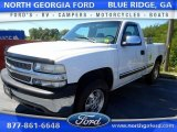 2000 Summit White Chevrolet Silverado 1500 LS Regular Cab 4x4 #107154160