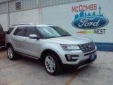 2016 Ingot Silver Metallic Ford Explorer Limited #107183122