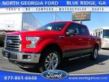 2015 Race Red Ford F150 XLT SuperCrew 4x4 #107182998