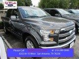 2015 Magnetic Metallic Ford F150 Lariat SuperCrew #107183096