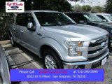 2015 Ingot Silver Metallic Ford F150 Lariat SuperCrew #107183095