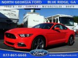 2016 Competition Orange Ford Mustang V6 Coupe #107182996