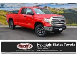 2016 Radiant Red Toyota Tundra SR5 Double Cab 4x4 #107183032