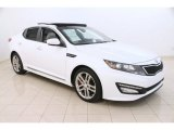 2013 Snow White Pearl Kia Optima SX Limited #107183224