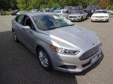 2016 Ingot Silver Metallic Ford Fusion SE #107202450