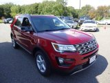 2016 Ruby Red Metallic Tri-Coat Ford Explorer XLT 4WD #107202440
