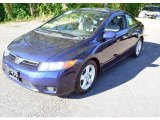 2007 Honda Civic EX Coupe Front 3/4 View