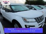 2016 Oxford White Ford Explorer XLT #107201897