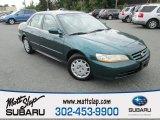 2002 Noble Green Pearl Honda Accord LX Sedan #107202260