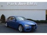 2013 Estoril Blue BMW 3 Series 335i xDrive Sedan #107201880