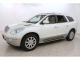 White Diamond Tricoat Buick Enclave in 2011