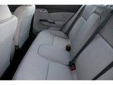2015 Honda Civic LX Sedan Rear Seat