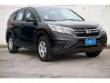 2015 Crystal Black Pearl Honda CR-V LX #107202115