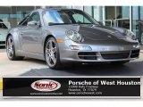 2007 Meteor Grey Metallic Porsche 911 Targa 4S #107202238