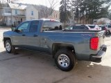 2014 Blue Granite Metallic Chevrolet Silverado 1500 WT Double Cab 4x4 #107201864