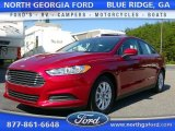2016 Ruby Red Metallic Ford Fusion S #107201596