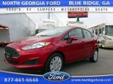 2015 Ruby Red Metallic Ford Fiesta SE Sedan #107201595
