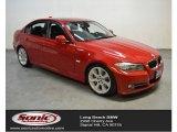 2009 Crimson Red BMW 3 Series 335i Sedan #107202221