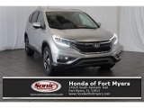 2015 Alabaster Silver Metallic Honda CR-V Touring AWD #107268308