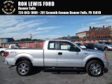 2014 Ingot Silver Ford F150 STX SuperCab 4x4 #107268564