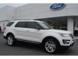 2016 White Platinum Metallic Tri-Coat Ford Explorer XLT #107268678