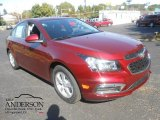 2016 Siren Red Tintcoat Chevrolet Cruze Limited LT #107269201