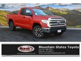 2016 Barcelona Red Metallic Toyota Tundra SR5 Double Cab 4x4 #107268253