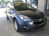 2013 Atlantis Blue Metallic Chevrolet Equinox LTZ #107269198