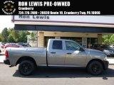 2012 Mineral Gray Metallic Dodge Ram 1500 ST Quad Cab 4x4 #107268601