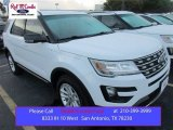 2016 Oxford White Ford Explorer XLT #107268461