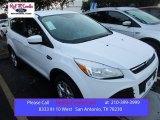 2016 Oxford White Ford Escape SE #107268458