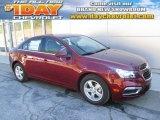 2016 Siren Red Tintcoat Chevrolet Cruze Limited LT #107268349