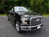 2015 Tuxedo Black Metallic Ford F150 XLT SuperCab #107268987