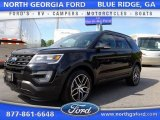2016 Shadow Black Ford Explorer Sport 4WD #107268190