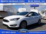 2015 Oxford White Ford Focus SE Sedan #107268189