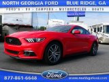 2015 Race Red Ford Mustang EcoBoost Coupe #107268188