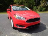 2015 Race Red Ford Focus SE Sedan #107268979